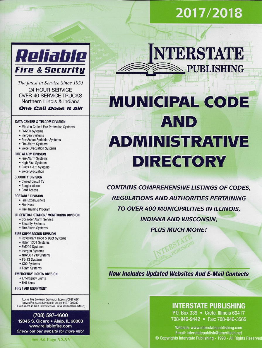 Interstate Publishing Municipal Code Administrative Directory